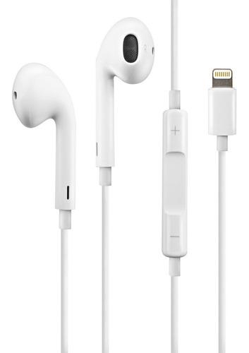 Fone De Ouvido Para iPhone 7 8 Plus Xr Xs 11 12 Lightning
