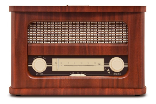 Rádio Telespark Clássica Vintage Bluetooth Rádio Fm Bateria