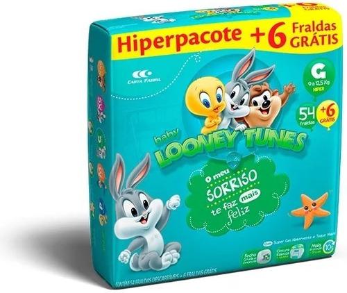 Fralda Descartável Infantil Baby Looney Tunes Atacado Barato