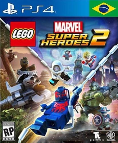 Lego Marvel Super Heroes 2 Ps4 Jogo Criança Infantil Digital