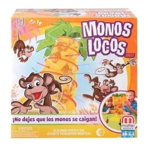 Juego De Mesa Monos Locos Mattel