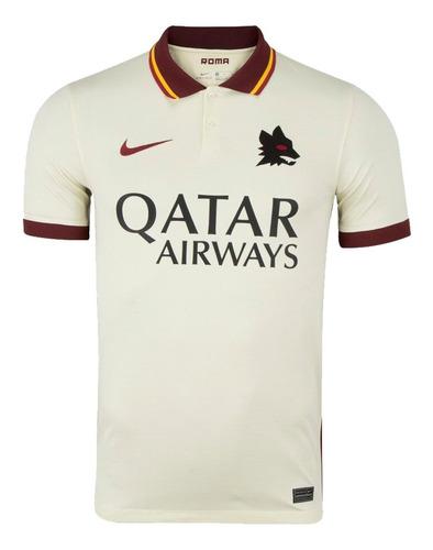 Nova Camisa Original Da Roma Bege 2021 Envio Imediato Oferta