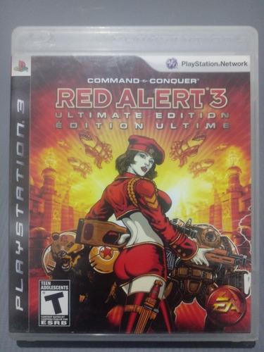 Red Alert 3 Ps3 Físico Z/sur