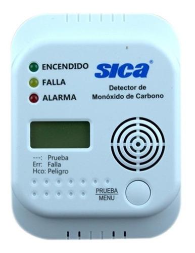 Detector De Monoxido De Carbono Digital Sica