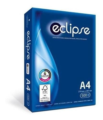 Resma A4 75gr Eclipse Obra Blanco X500 Hojas