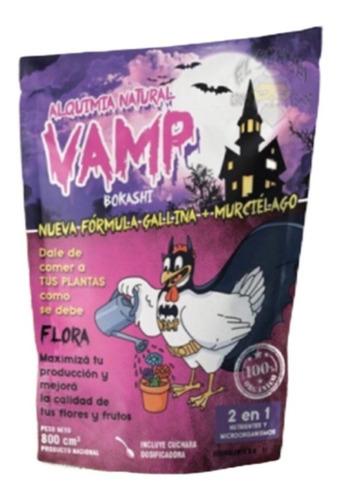Vamp Guano Gallina + Murciélago Fertilizante Orgánico Flora