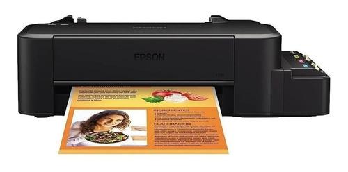 Impressora A Cor Função Única Epson Ecotank L120 Preta 100v/240v