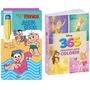 Aquabook Colorir Com Água Mônica E Atividades Princesas 365