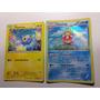 2 Carta Card Pokemon Slowking / Chinchou