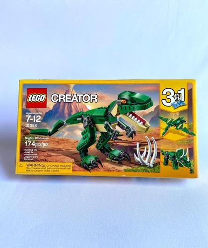 Lego Creator Mighty Dinosaurios De 174 Fichas
