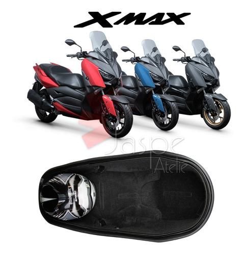 Forração Yamaha Xmax 250 Forro Baú Acessório Scooter Preto