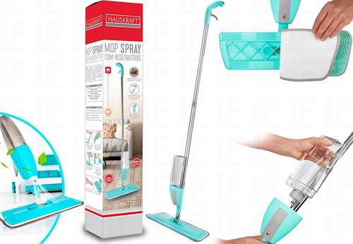 Mop Spray Com Reservatório E Refil Microfibra Rodo Magico
