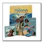 Livro Moana. Disney Caixa Com 5 Em 1 ( dvd)