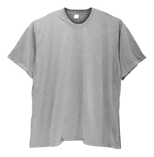 Kit 4 Camisetas Camisa Masculina Cores Plus Size Até G6 Nº64