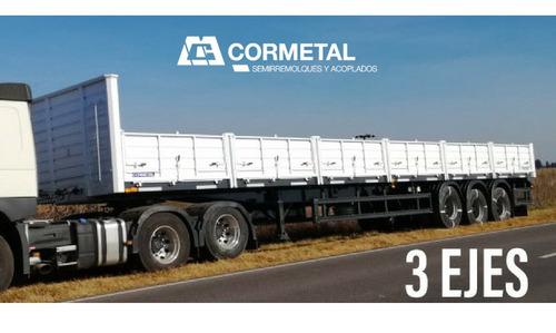 Semirremolque 14,50 3 Ejes Cormetal 0 Km Antic + Fin