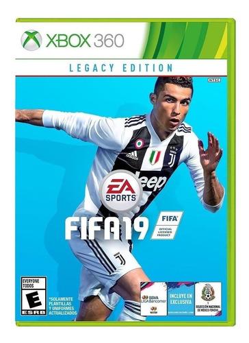 Fifa 19 Legacy Edition Electronic Arts Xbox 360  Físico