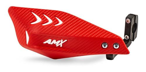 Protetor De Mão Moto De Trilha Enduro Amx Carbon Wing