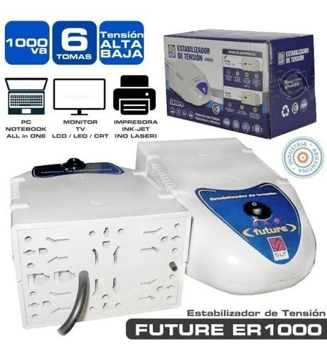 Estabilizador De Tension Para Pc Sur Electric 1000va Gtia