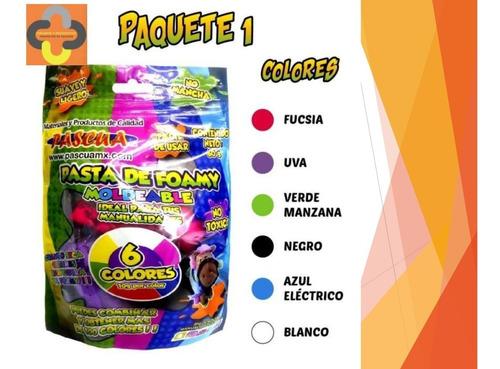 Fomi - Foamy Moldeable 6 Colores Goma Eva