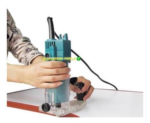Tupia Laminadora Portátil Manual 127v Ou 220v 650 Watts.