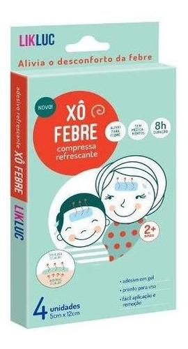 Xô Febre ® Adesivos Refrescantes Em Gel ( Genérico Bekoool )