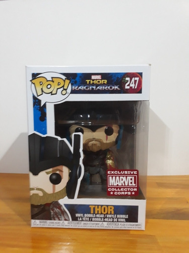 Funko Pop Thor 247 Marvel Collector Corps Exclve