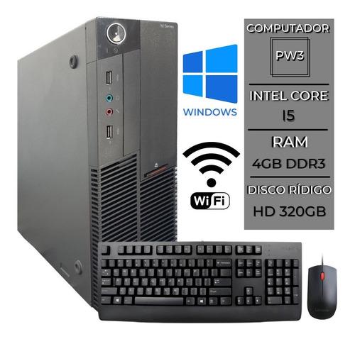 Computador Lenovo M90p Intel I5 4gb Hd 320  C/ Garantia + Nf