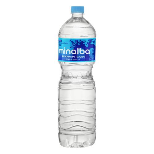 Água Mineral Minalba  Sem Gás   Garrafa  1.5 L