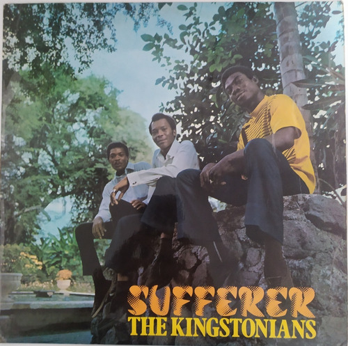 Lp - The Kingstonians - Sufferer - Prensagem Original