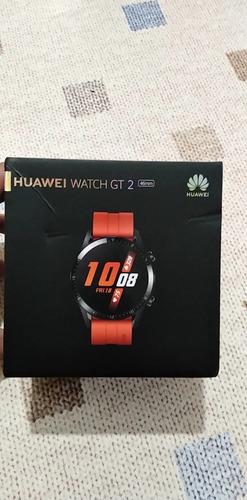 Smartwatch Huawei Gt 2/gt2 46mm Preto Lacrado Pronta Entrega
