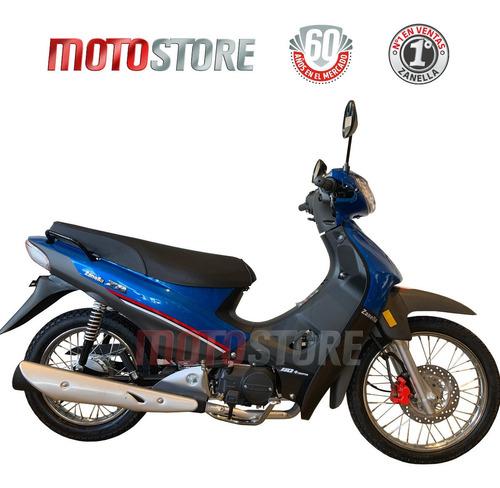 Moto Zb 110cc Llanta Rayo Freno De Disco Zanella 0km