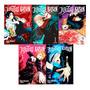 Mangá Jujutsu Kaisen Batalha De Feiticeiros 5 Volumes