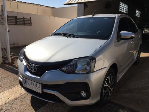 Toyota Etios 1.5 Platinum Sedan 18/19 Automático Novíssimo