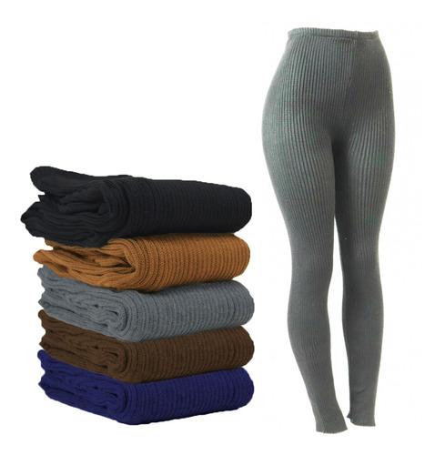 Calça De Lã Fusô Adulto Feminina E Masculina Grossa R:27