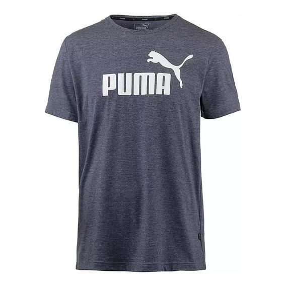 Remera Puma Moda Essential + Heather Hombre Go