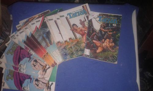 10 Revistas Comic Tarzan Tamaño Chico