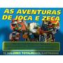 Livro Aventuras De Joca E Zeca 12 Vols