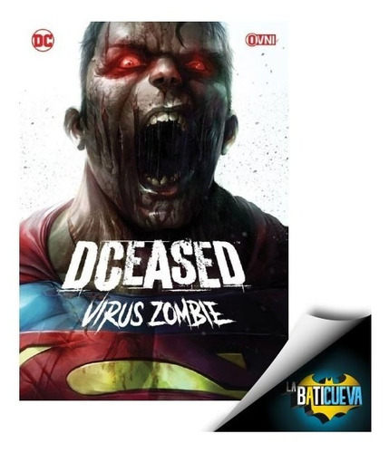 Comic Dceased Virus Zombie Dc Comics Español Latino