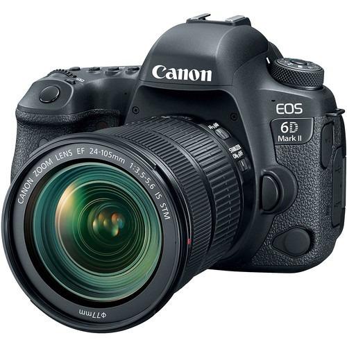 Câmera Canon 6d Mark Ii C/ 24 105mm Stm 12x S/juros