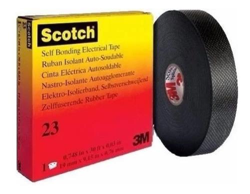 Cinta Scotch 23 De 3m  Autofundente