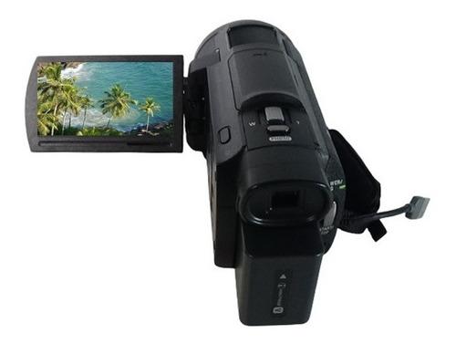 Filmadora Sony Fdr-ax33 4k Entrada De Microfone Saida Limpa