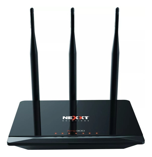 Access Point, Repetidor, Router Nexxt Solutions Nebula Amp300 Negro