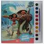 Livro Disney Moana Aquarela Disney