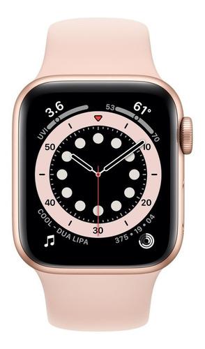 Apple Watch Se Rosa 44mm, + Nota Fiscal E Garantia Nacional.