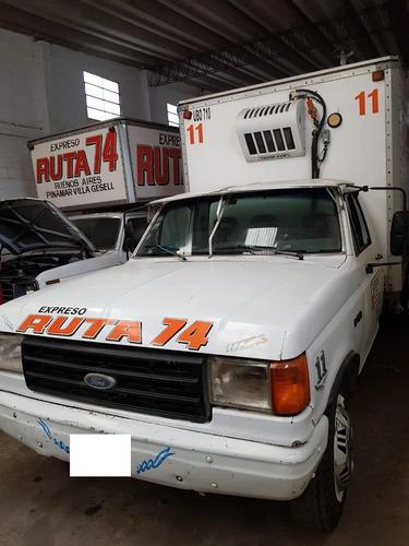 Ford 350 1991 Con Caja Termica Y Equipo Apto Frío Increíble!