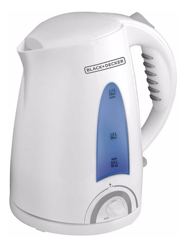 Pava Eléctrica Black+decker Ke002 Color Blanca 220v 1.7l