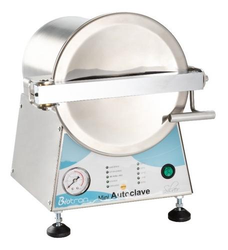 Mini Autoclave Silver 5 Litros Biotron C/registro Na Anvisa