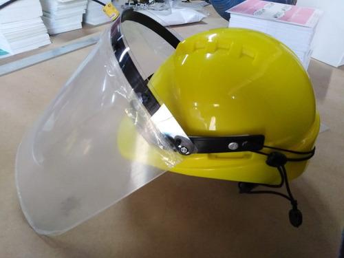 Protector Facial De Policarbonato Con Casco Cod 986 063 294