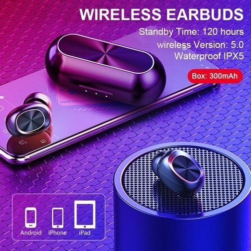 Fone De Ouvido Bluetooth Bakeey B5 True Wireless Speaker