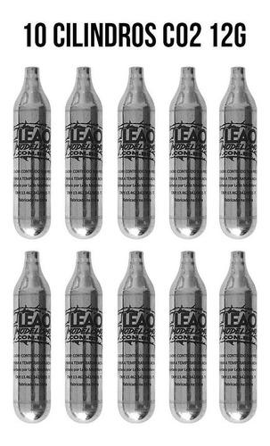 Cilindro Pistola Co2 Barato Airsoft 12g Kit Com 10 Unidades